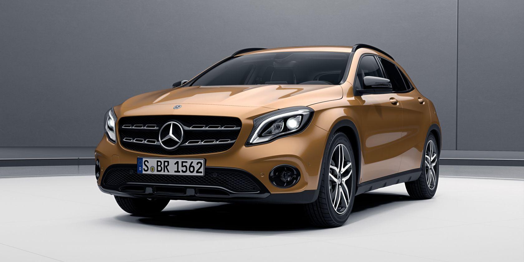 Новый Mercedes GLA 2019 | фото, цена, характеристики