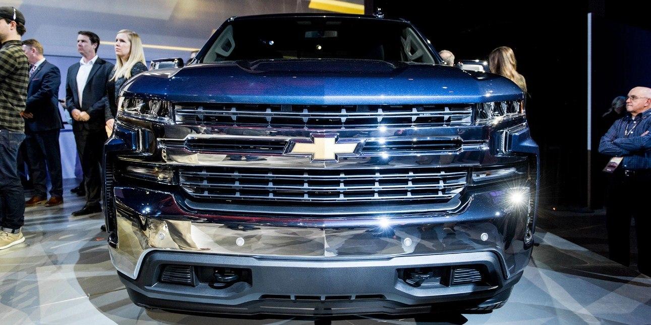 Новые модели Chevrolet 2019 модельного года в 2019 году