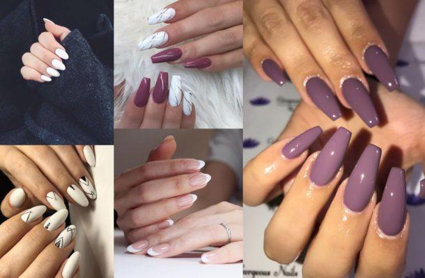дизайн ногтей в 2019 году лаком
