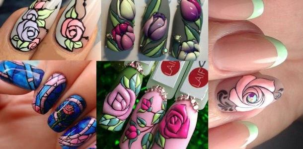 дизайн ногтей в 2019 году цвет