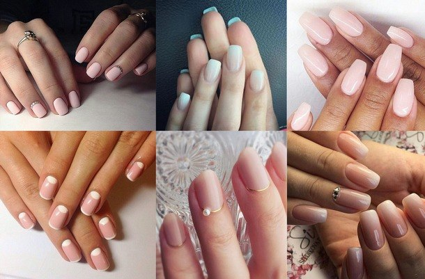модный маникюр ногтей