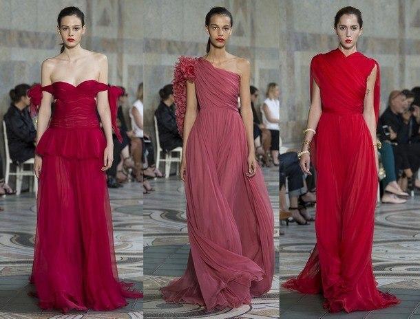 модный цвет платья на новый год