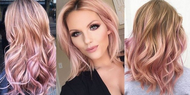 photo of fashionable hair colors
