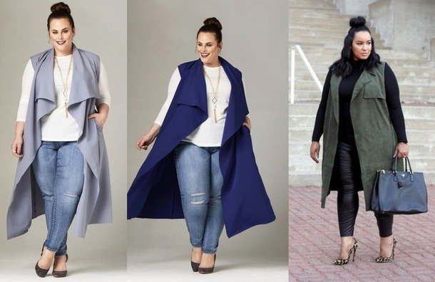 мода осень 2019 для полных