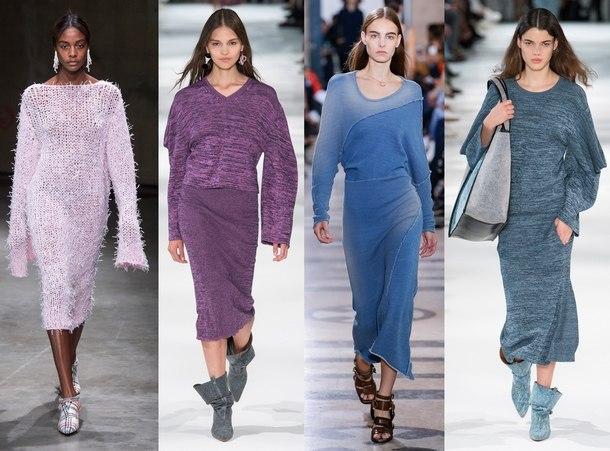 тенденции моды осень зима 2019