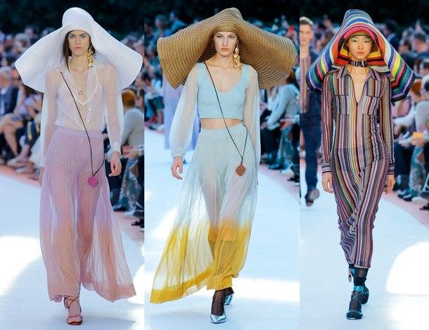 модные платье весна лето 2019