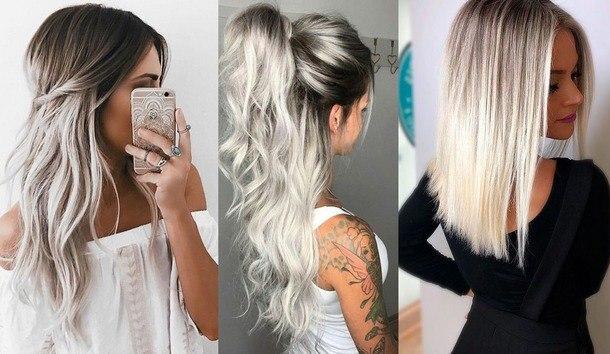 окрашивание волос 2019 модные тенденции