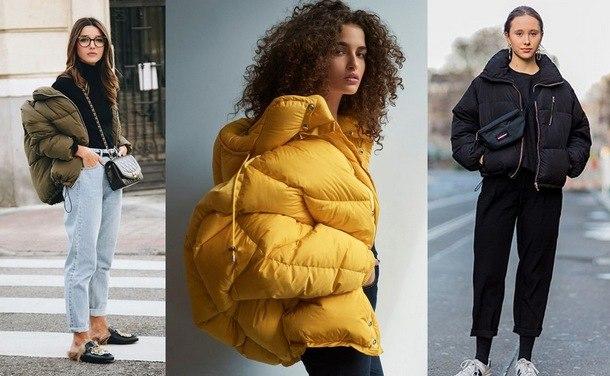 зимние женские пуховики 2019 фото модных новинок
