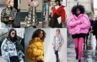 Модные женские пуховики сезона