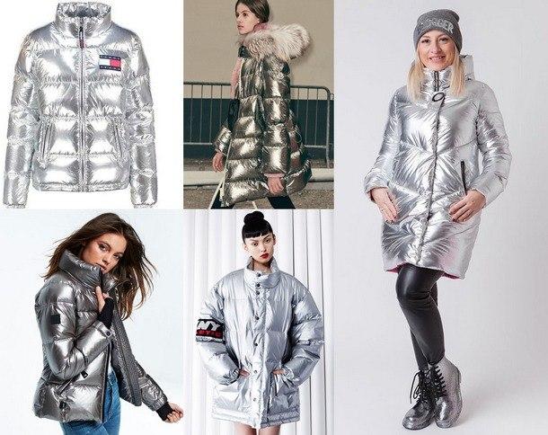 пуховики модные тенденции