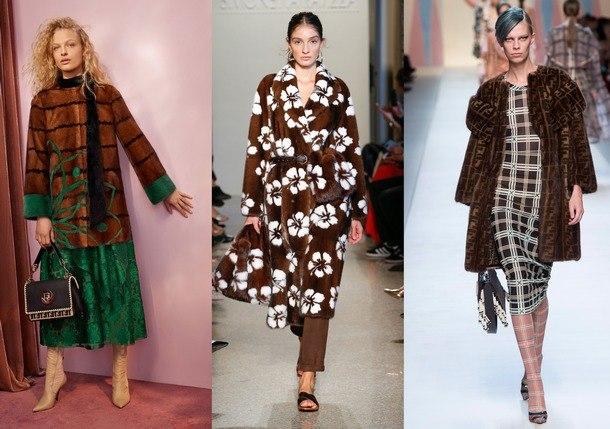 модные тенденции шуб