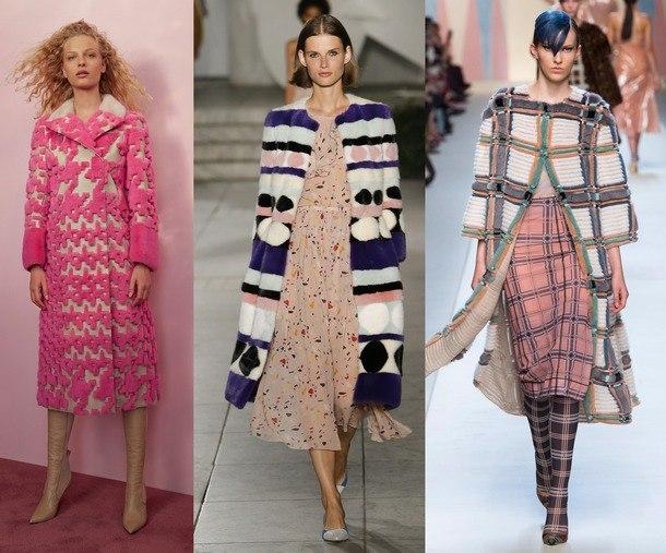 модные модели шуб в 2019 году