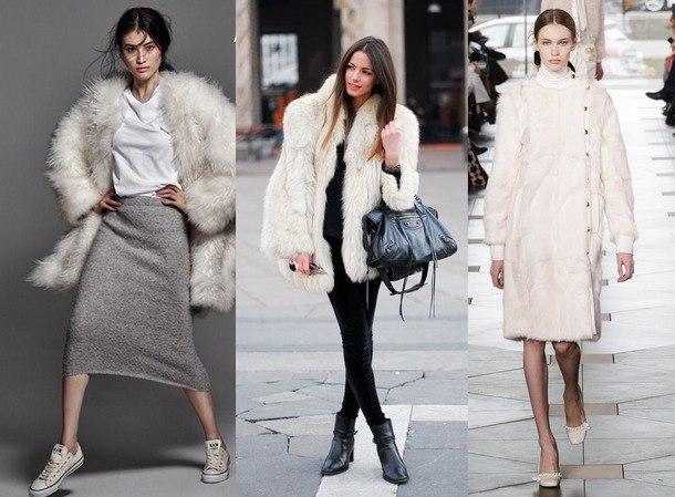 модные шубы зима 2019