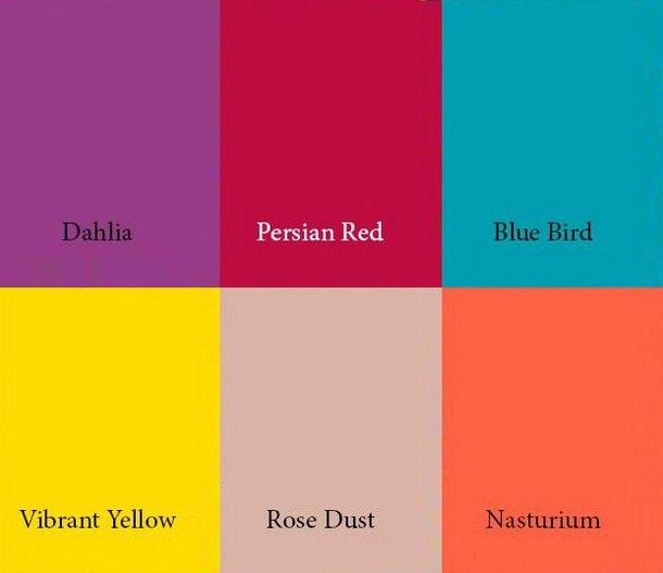 актуальные цвета 2019 года