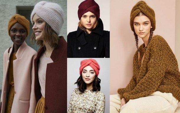 модные зимние шапки 2019 года для женщин