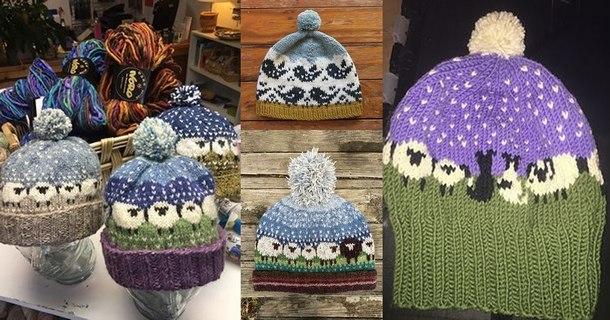 красивые зимние шапки