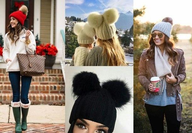 новые зимние шапки 2019