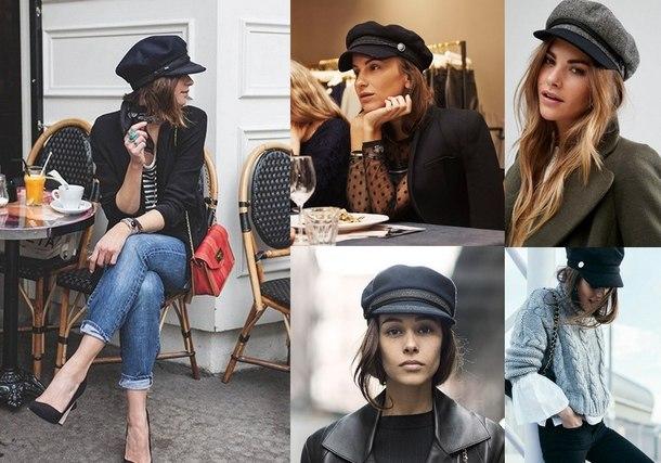зимняя шапка мода 2019
