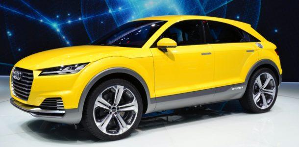 Кроссовер Audi Q4 2019 года