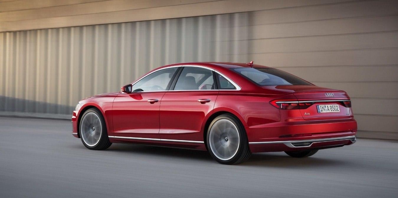 Audi S8 2019 модельного года: новое поколение седана
