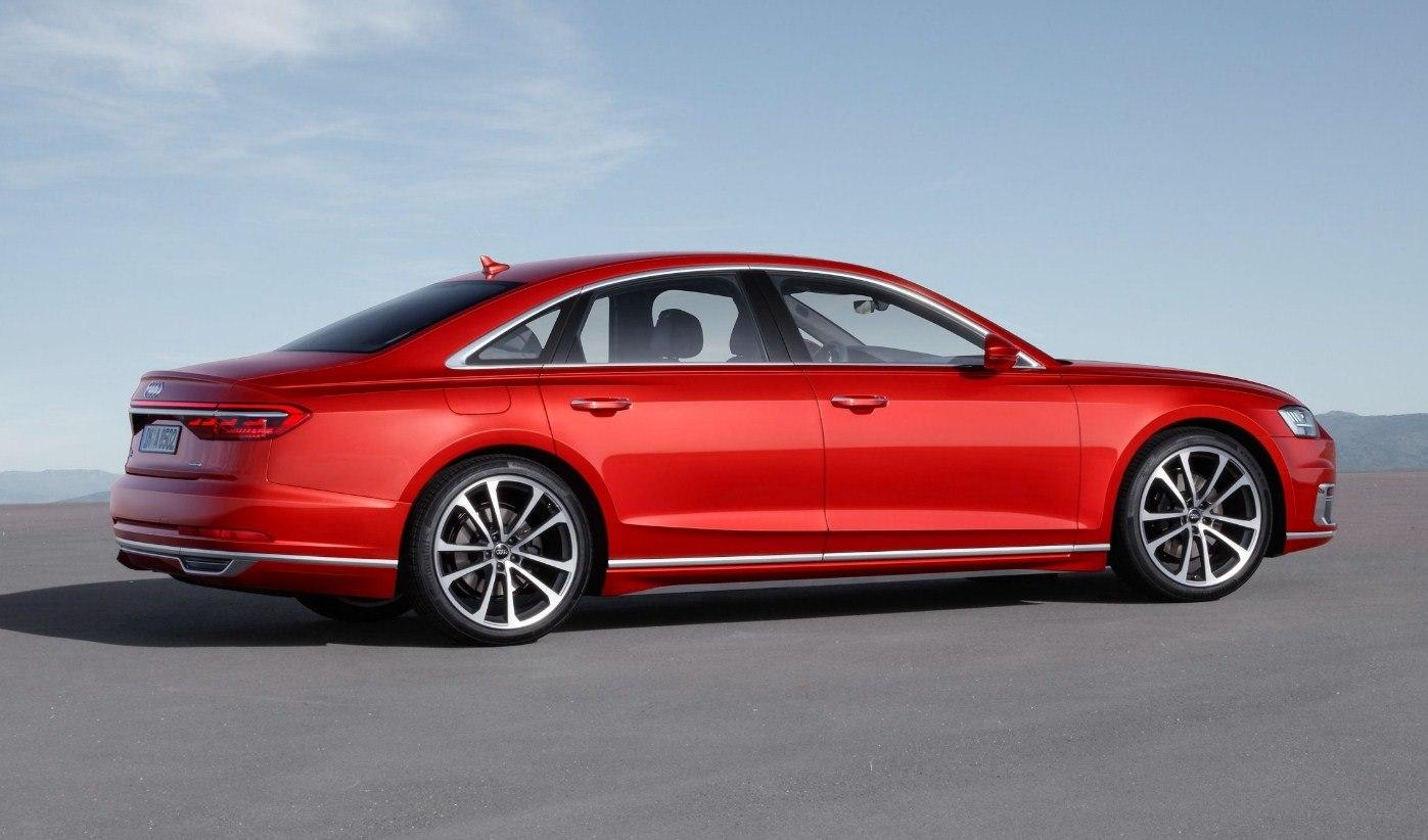 Audi S8 2019 модельного года: новое поколение седана картинки