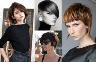 Женские стрижки на короткие волосы в 2019 году: вид спереди и сзади