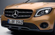 Рестайлинговый Mercedes-Benz GLA 2019 модельного года