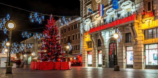 Новый год 2019 Загреб