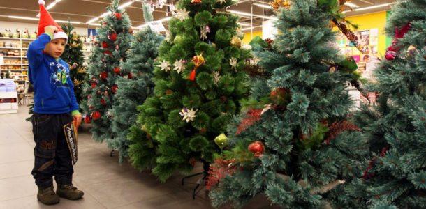 какие бывают новогодние елки