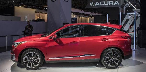 Acura RDX 2019 дизайн