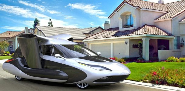 flying car photo 2019