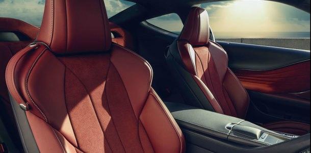 комплектации Lexus LC F 2019