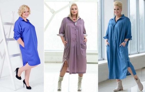модные платья 2019 для полных фото