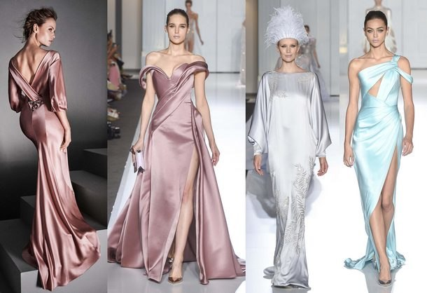 836dcde27f8 модные тенденции вечерних платьев 2019 года