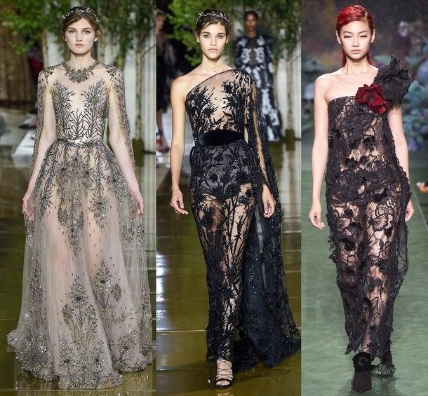 модные новинки вечерние платья 2019 года