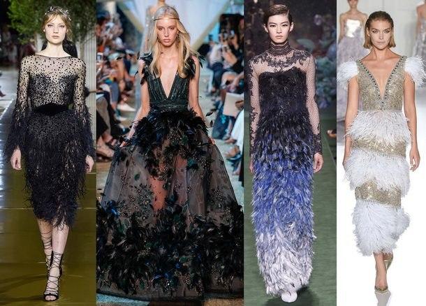 самые модные вечерние платья