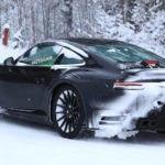 обновление Porsche 911