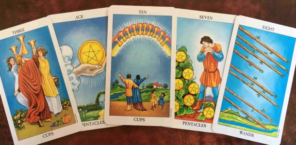 horoscope on tarot cards 2019
