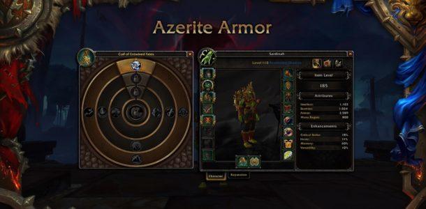 world of warcraft battle for azeroth персонажи