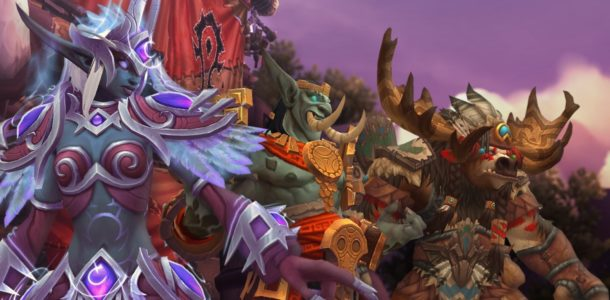 world of warcraft battle for azeroth классы