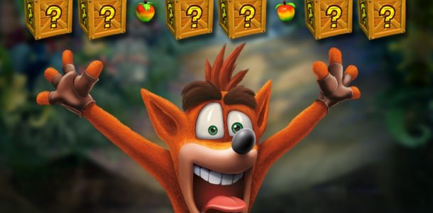 crash bandicoot на PS