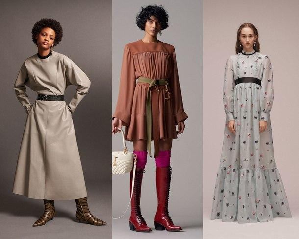 модный лук зима 2019