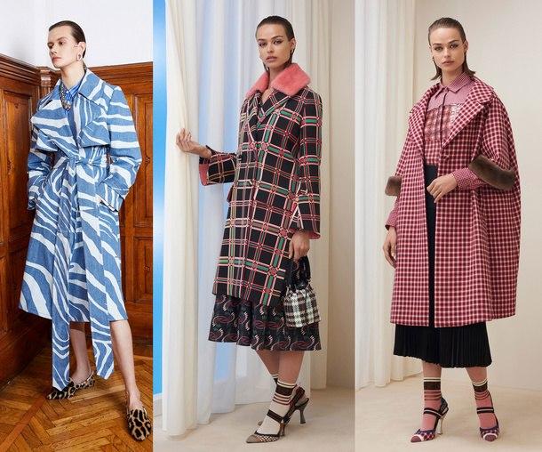 мода сезона зима 2019