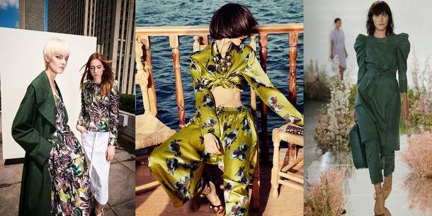 модные цвета весна 2019 pantone