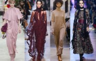 Модные женские платья сезона «Зима-2019»