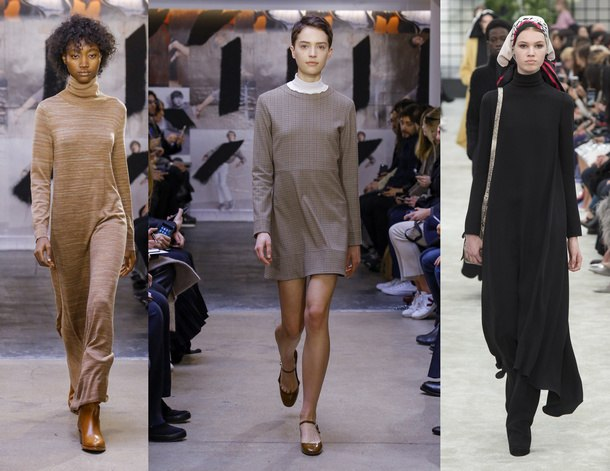 модные платья зима 2019 фото