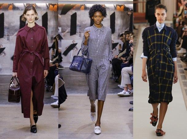 модные тенденции платья зима 2019