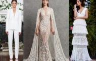 Модные свадебные платья 2019 года