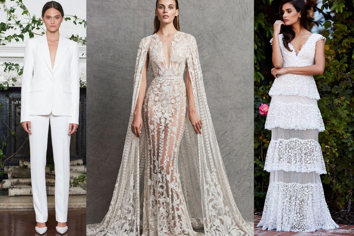 Модные свадебные платья весна-лето 2019 тенденции фото рекомендации