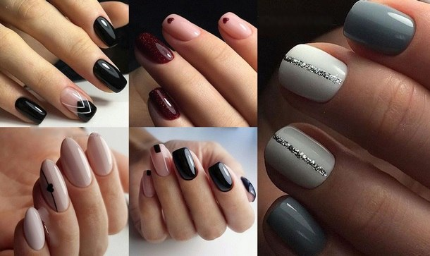 the most fashionable manicure shellac 2019
